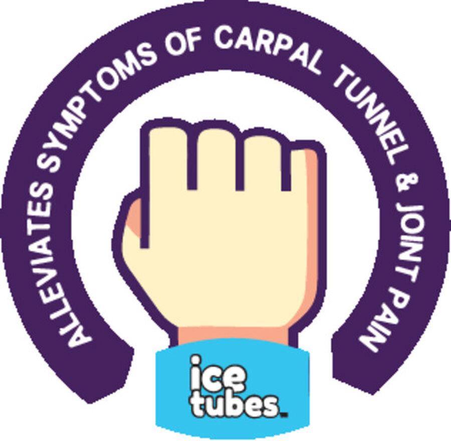 Icetubes™ Wrist Tubes, Roll-On Cold Compression, Blue, , large image number 3