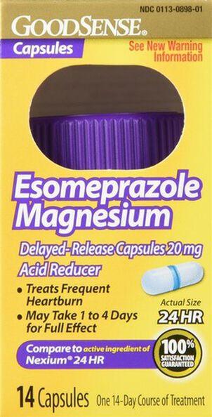 GoodSense® Esomeprazole Magnesium 20 MG, 24- Hr Delayed Release Capsules, 14 ct