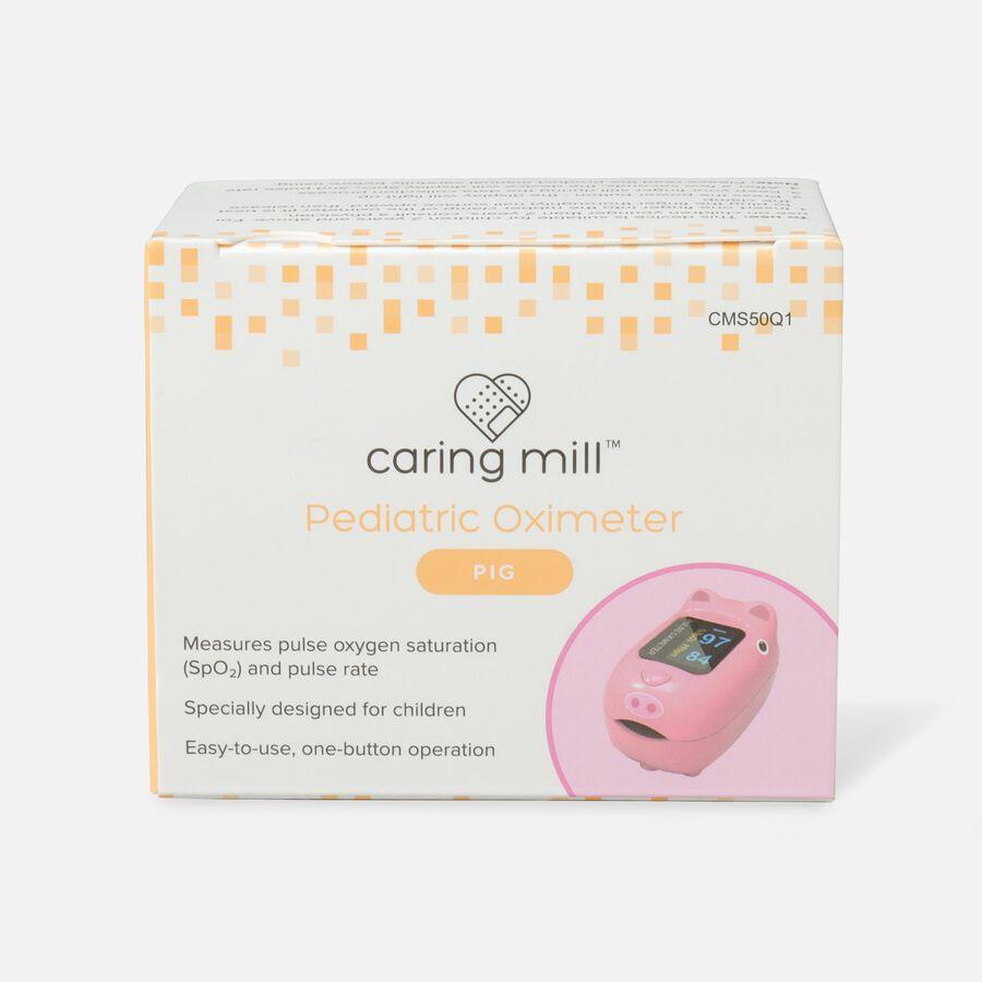 Caring Mill® Pediatric Oximeter-PINK PIG, , large image number 1