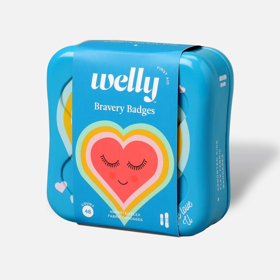 Welly Bravery Badges Assorted Eye Love U Flex Fabric Bandages - 48ct, , large image number 2