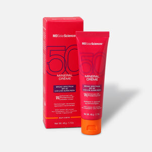 MDSolarSciences Mineral Crème SPF 50, 1.7 oz, Broad Spectrum