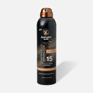 Australian Gold Continuous Spray With Instant Bronzer, SPF 15, 6oz.