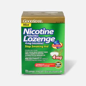 GoodSense® Nicotine Polacrilex Lozenges, 4 mg (nicotine), Mint Flavor,72 ct