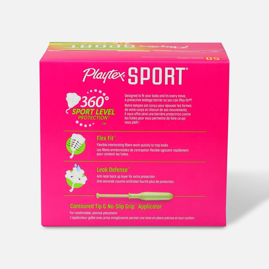Playtex Sport Multipack Tampons, Unscented (Reg/Super), , large image number 3