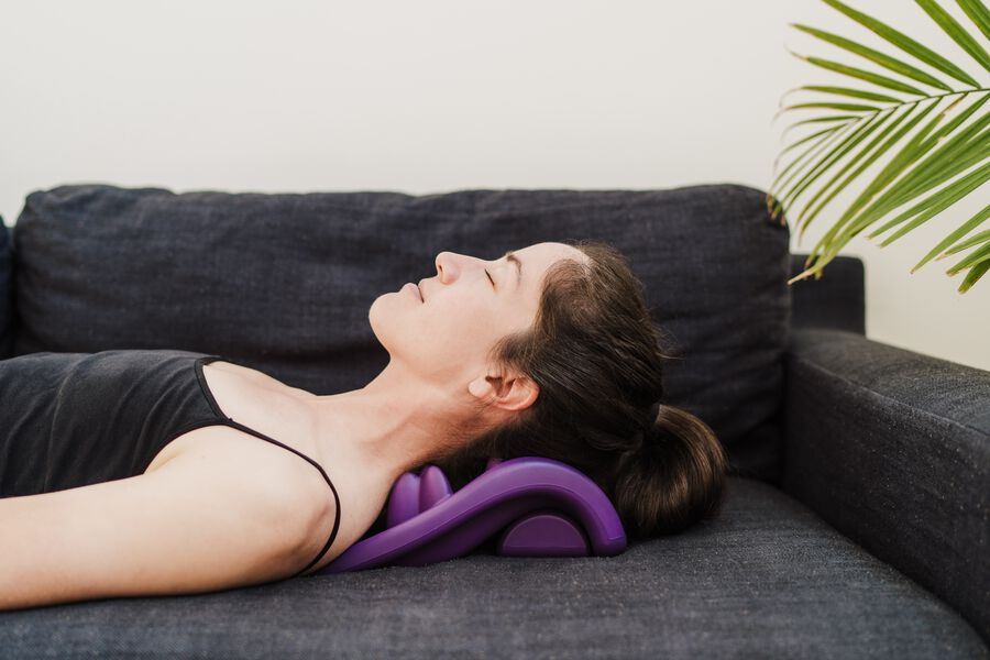 Kanjo Flex Firm Acupressure Neck Pain Relief Cushion, , large image number 9
