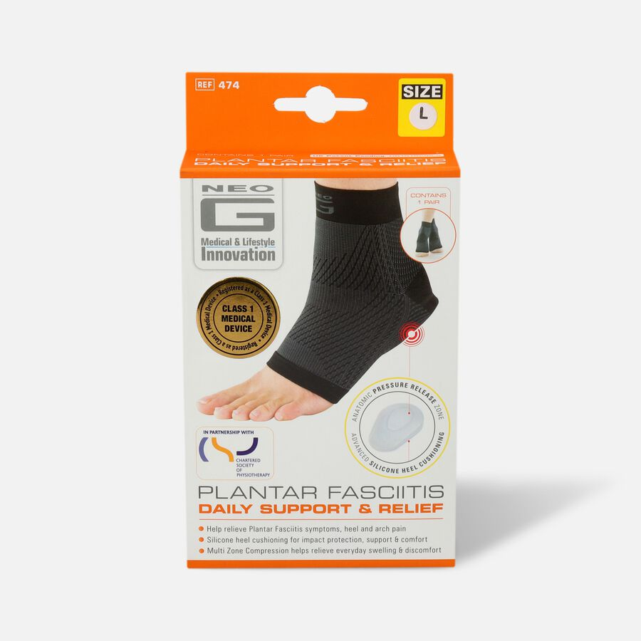 Neo G Plantar Fasciitis Everyday Support, Large, , large image number 0