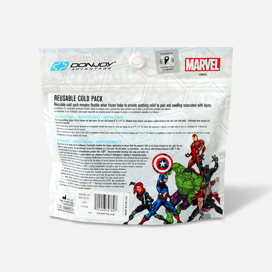 DonJoy Advantage Marvel Reusable Cold Pack, the Avengers, , large image number 1