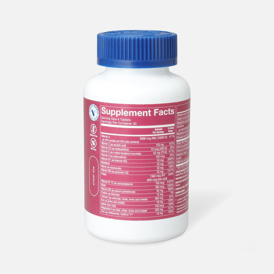 Vitamin Shoppe Prenatal + DHA Multivitamin Tablets For A Healthy Pregnancy, 120 ct, , large image number 1