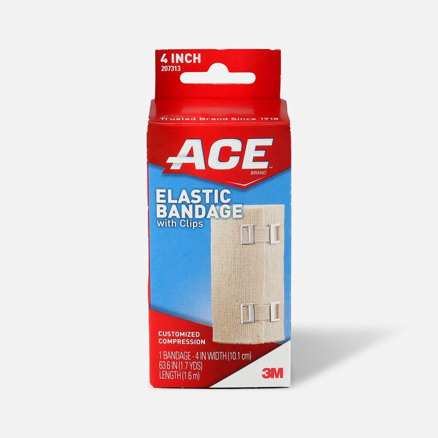 ACE Elastic Bandage with Clips, , large image number 1