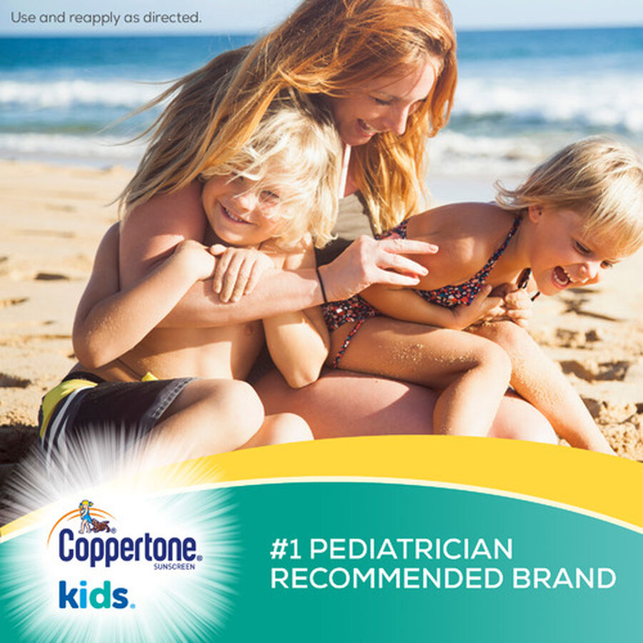 Coppertone Kids Sunscreen Spray SPF 50, Twin Pack, 5.5 oz each, , large image number 2