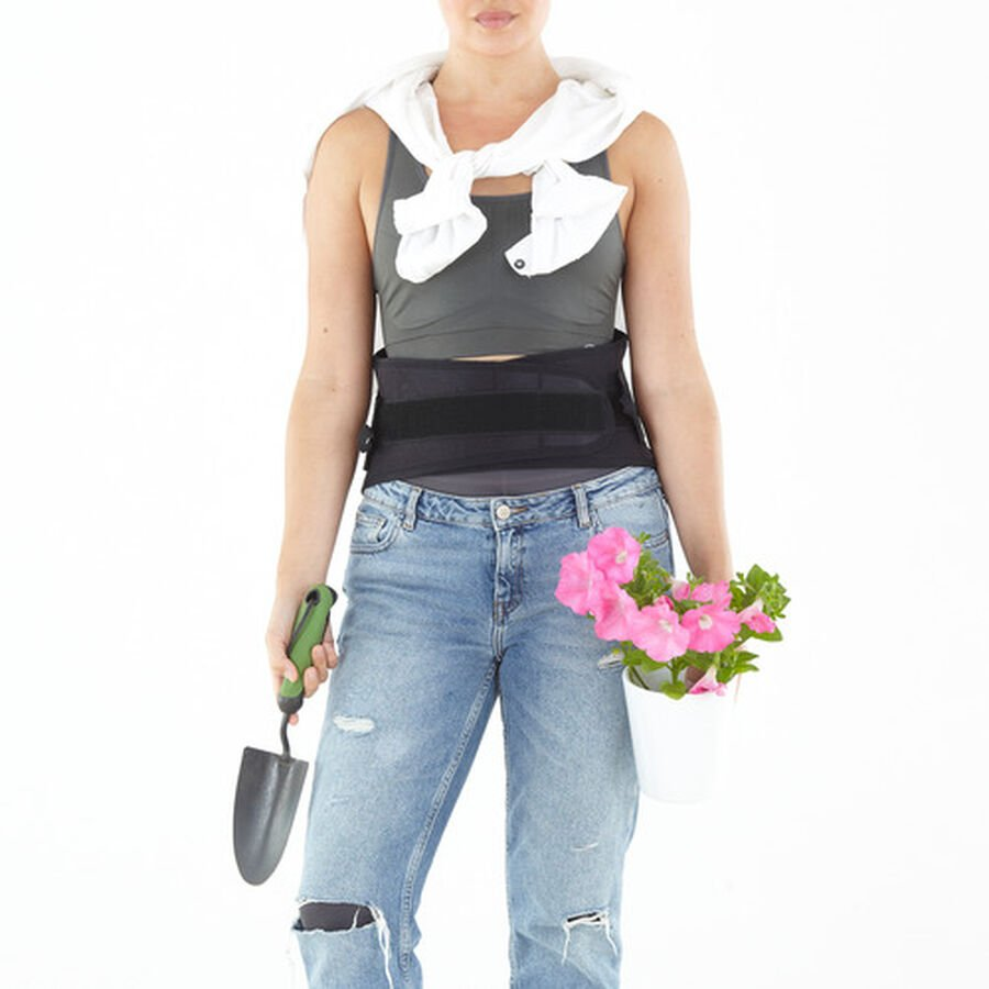 Neo G Back Brace with Power Straps, One Size, , large image number 6