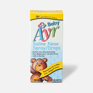 Ayr Baby's Saline Nose Spray, Drops, 1 fl oz