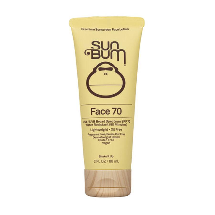 Sun Bum Face Lotion, SPF 70, 3 oz, , large image number 0