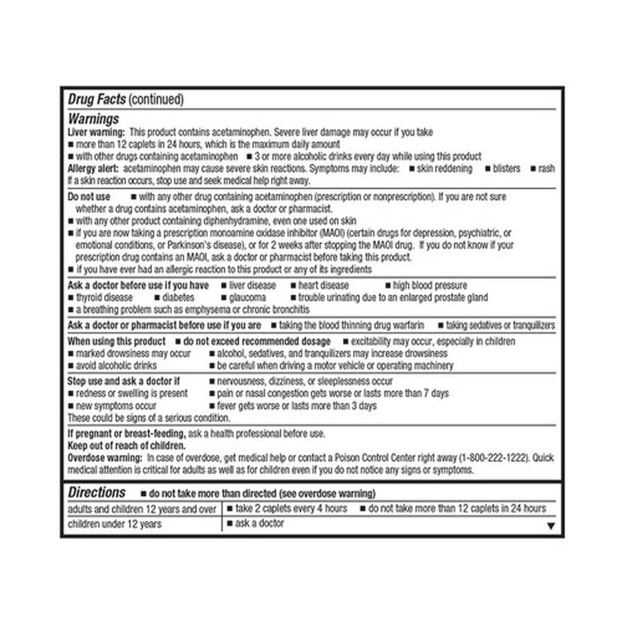 GoodSense® Severe Allergy Relief Plus Sinus Headache Caplets, 20ct, , large image number 1