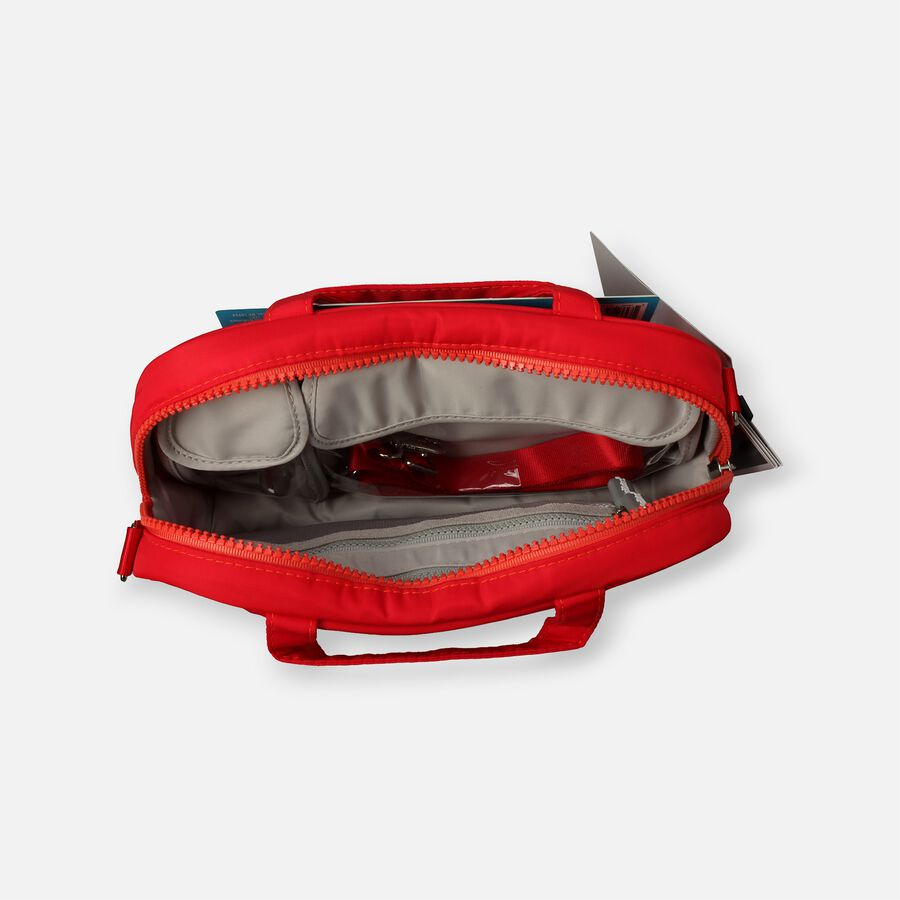 AllerMates Ruby Red Meds Insulated Medicine Bag Case for Allergy & Asthma Meds, , large image number 1