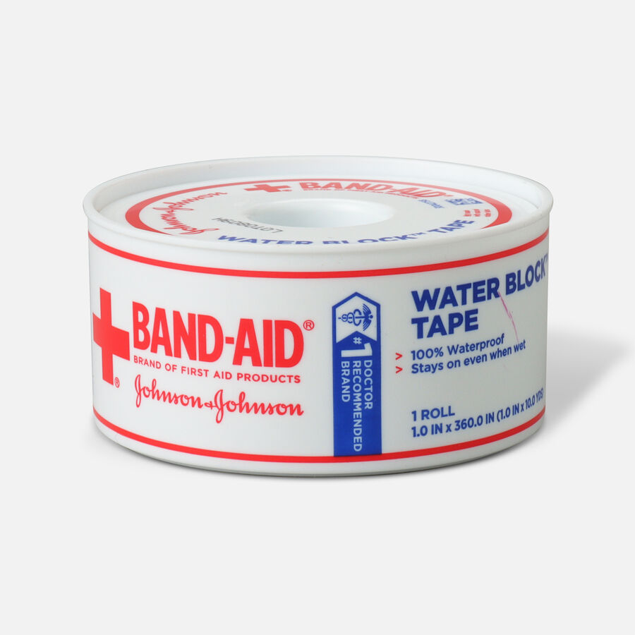 Band-Aid First Aid Water Block Tape - 1ct, , large image number 0