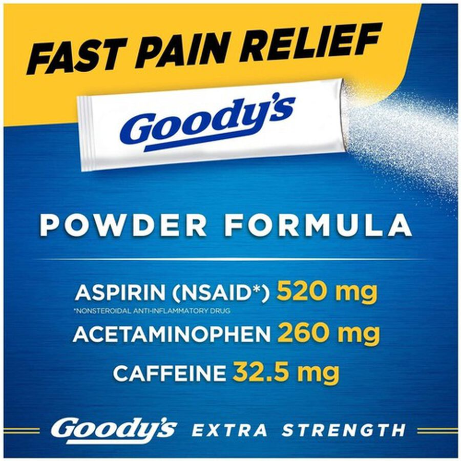 Goody's Extra Strength Headache Powder, , large image number 4