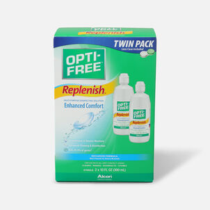 Opti-Free RepleniSH Multi-Purpose Disinfection Solution 10 oz, Value Pack 2