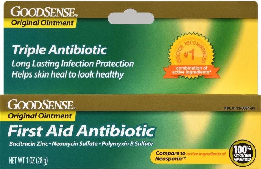 GoodSense® Orginal First Aid Antibiotic Ointment 1 oz, , large image number 0
