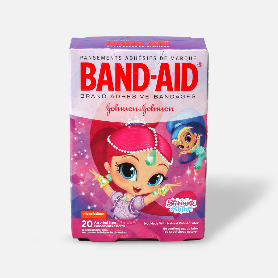 Band-Aid Adhesive Assorted Bandages, Nickelodeon Shimmer and Shine, 20 ct., , large image number 1