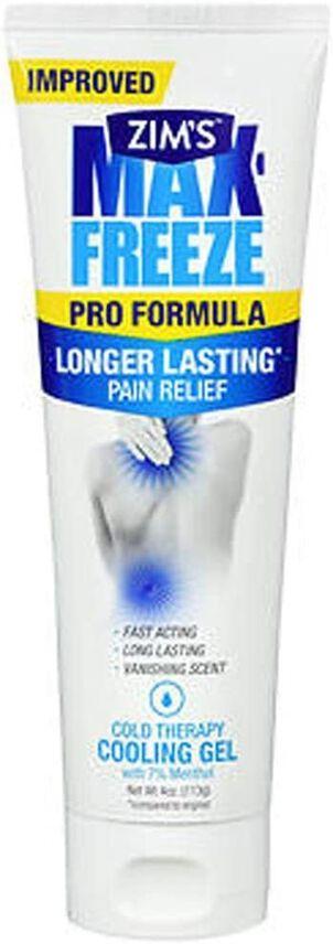 Zim's Max Freeze Pro Formula Gel, 4 oz