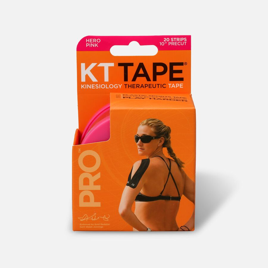 KT TAPE PRO, Pre-cut, 20 Strip, Synthetic, , large image number 0