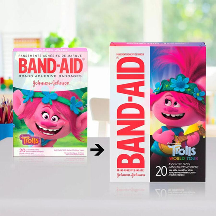 Band-Aid Dreamworks Trolls Assorted Bandages, 20ct., , large image number 4