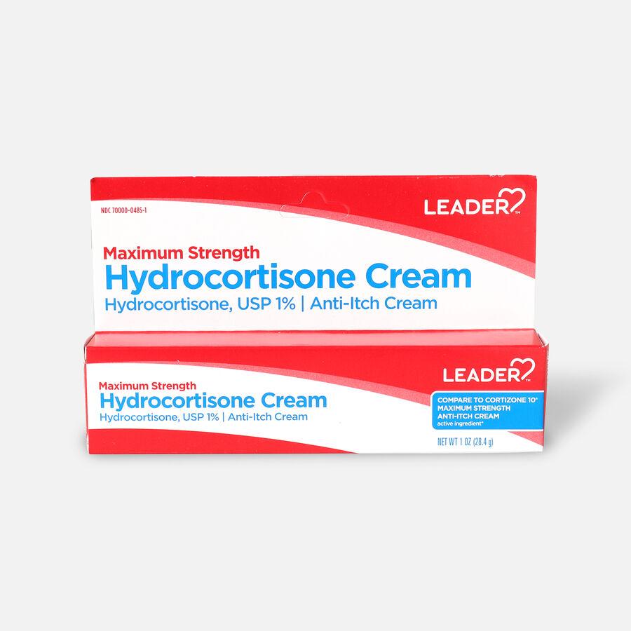 LEADER™ Hydrocortisone 1% Cream 1 oz, , large image number 0