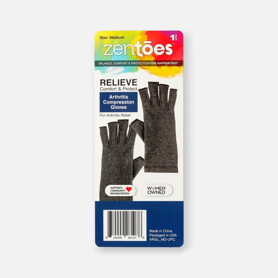 ZenToes Arthritis Compression Gloves, 1 pair, , large image number 1