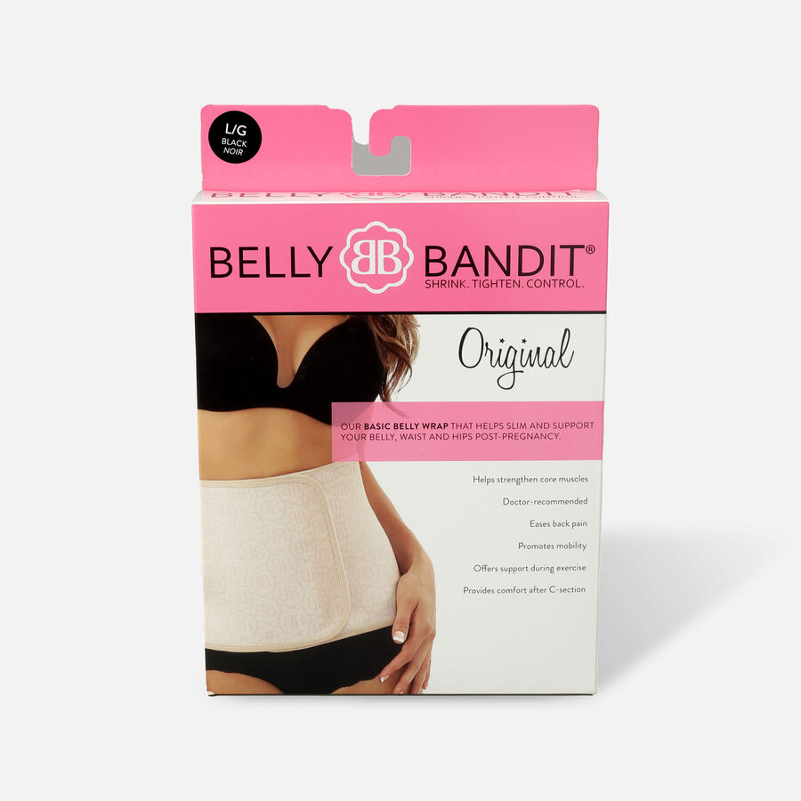 Belly Bandit Original Belly Wrap- Black- M, , large image number 1