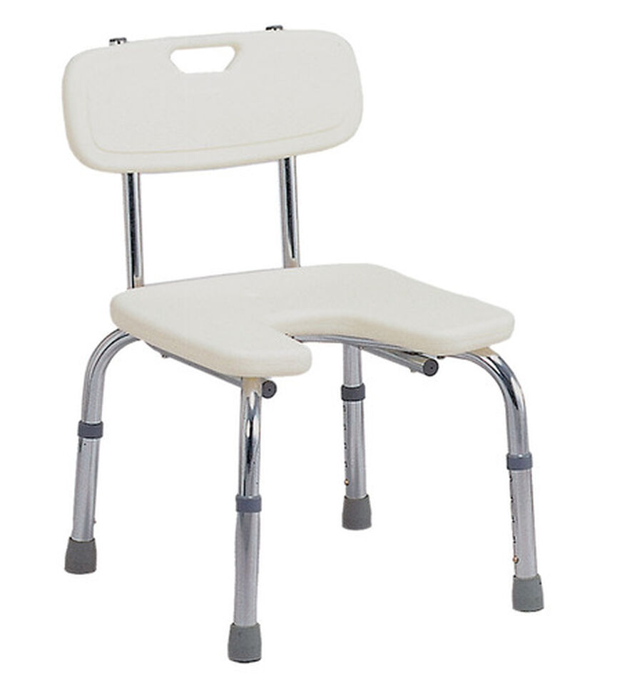 DMI® U-Shape Bath and Shower Chair Bench, , large image number 0
