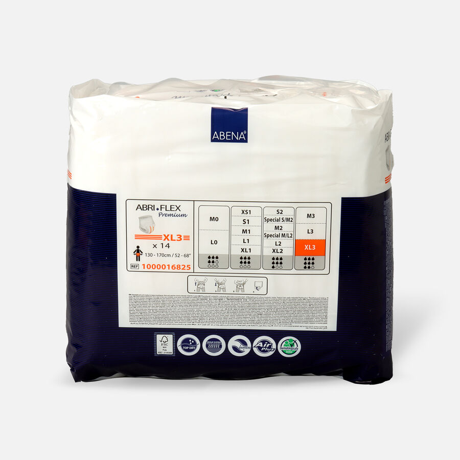 Abena Abri-Flex S2 Premium Protective Underwear, 14ct, , large image number 1