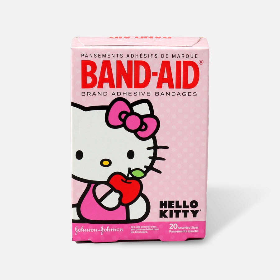 Band-Aid Children's Adhesive Bandages Hello Kitty Assorted, 20 ea, , large image number 1