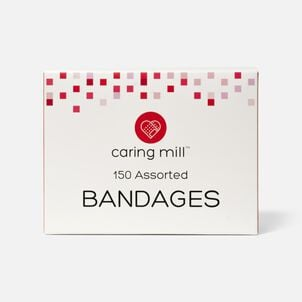 Caring Mill™ Assorted Bandages, 150 ct