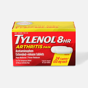 Tylenol 8HR Arthritis Pain Caplet, 24 ct