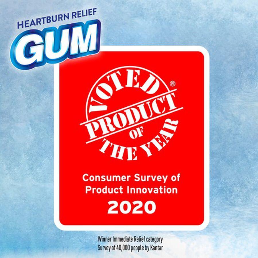 Alka-Seltzer Heartburn Relief Gum, Peppermint, 16 count, , large image number 3