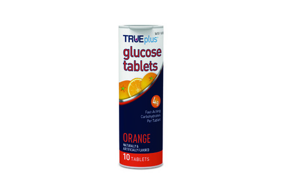 TRUEplus Glucose Tab 10ct- Orange, , large image number 2