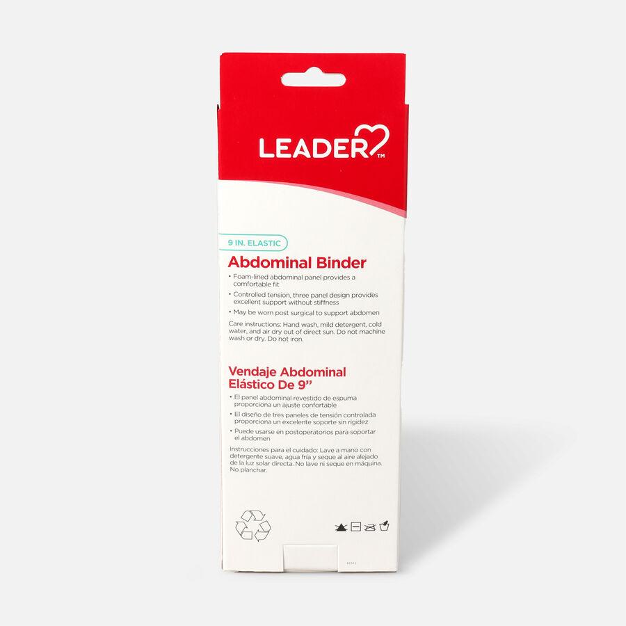 "Leader Abdominal Binder 9"", White, Large, , large image number 1"