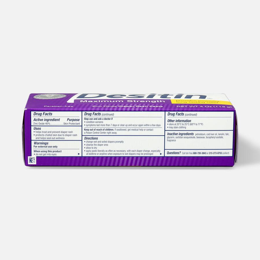 Desitin Maximum Strength Zinc Oxide Diaper Rash Paste, , large image number 9