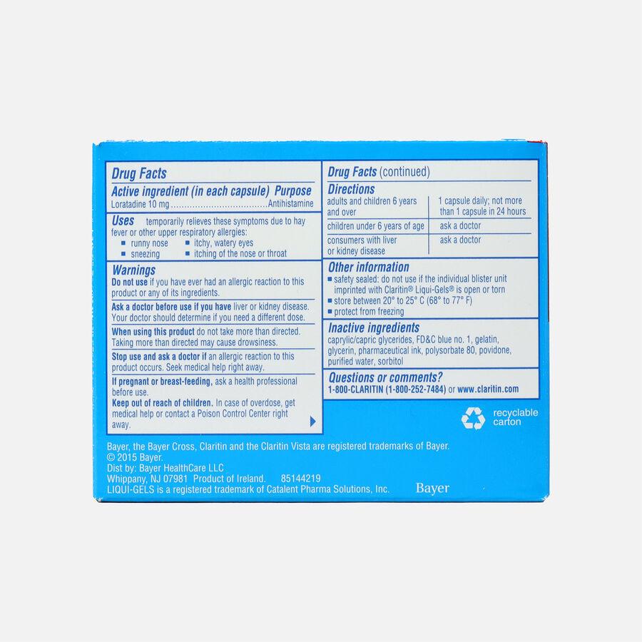 Claritin Allergy LiquiGels, 30 Count, , large image number 1