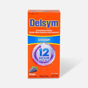 Delsym Adult Liquid, Grape, 5 oz