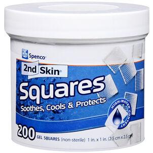 "Spenco 2nd Skin Gel Squares, 1"" - 200ct"