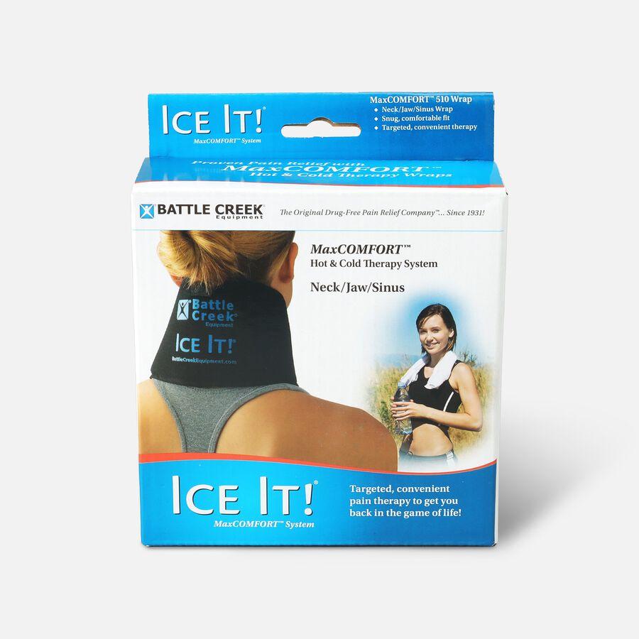 "Battle Creek Ice It! ColdCOMFORT Neck/Jaw/Sinus System, 4.5"" x 10"", , large image number 0"