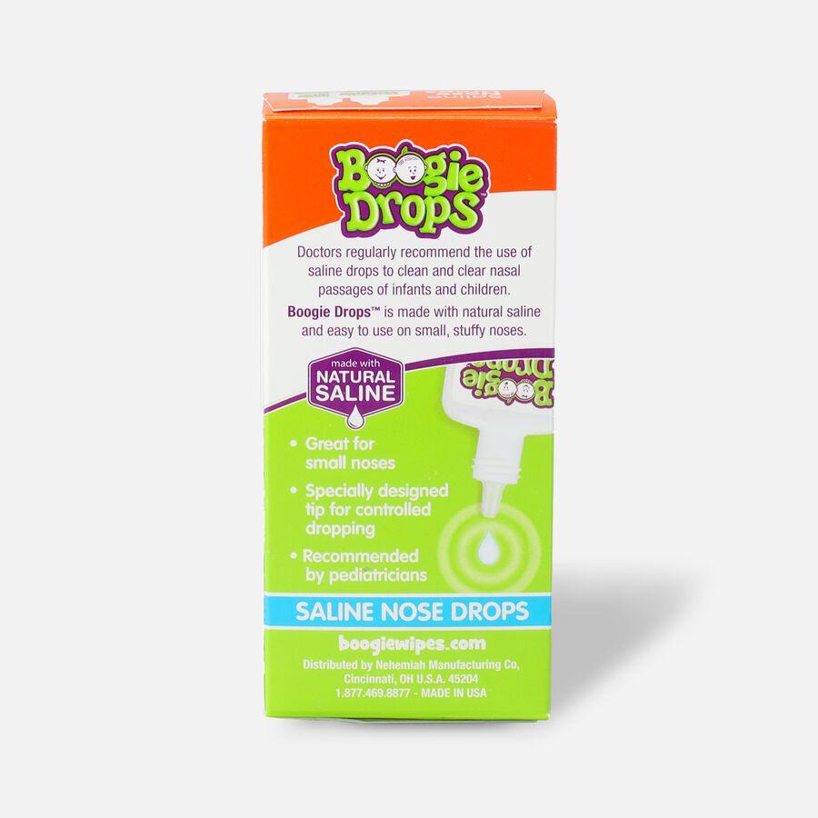 Boogie Drops Saline Nose Drops Twin Pack - 1.7 fl oz, , large image number 1