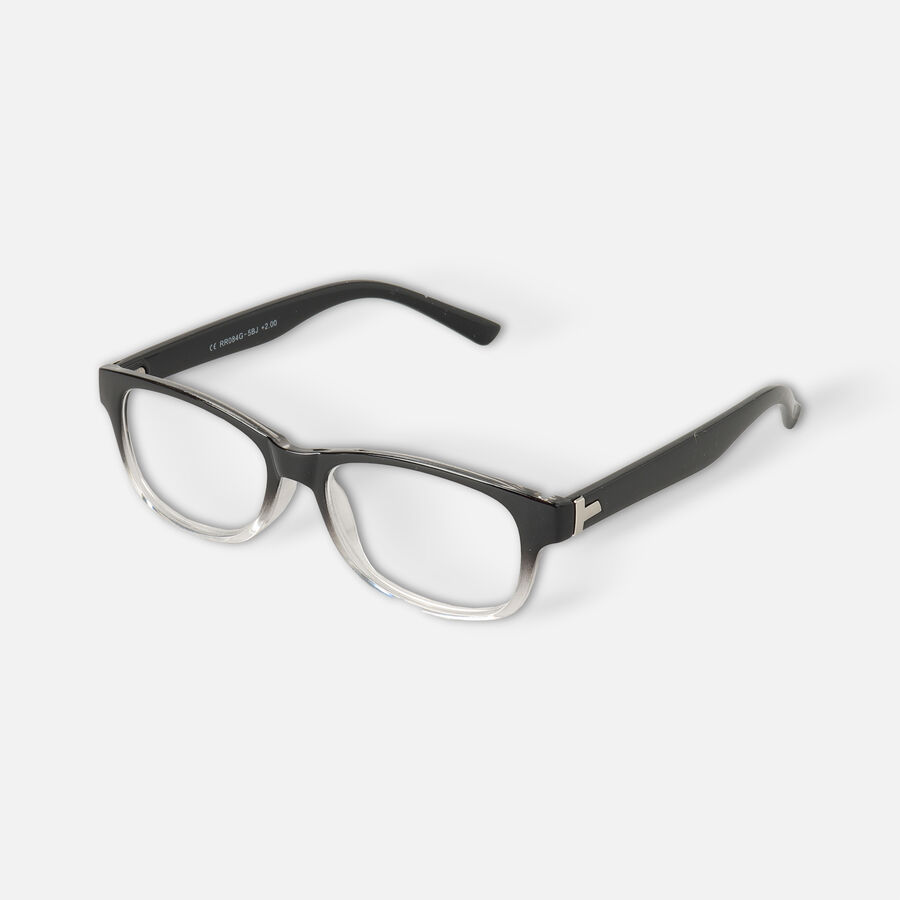 Today's Optical Frame, Black with Transparent Accents, , large image number 5