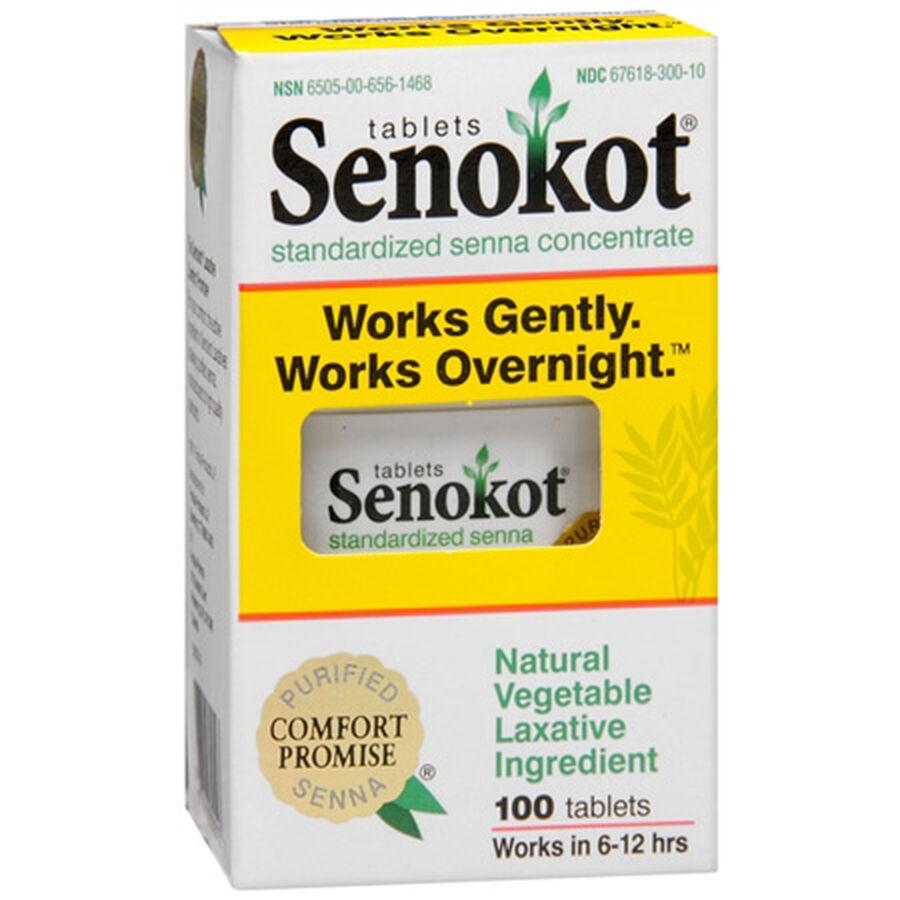 Senokot Laxative Tablets, , large image number 0
