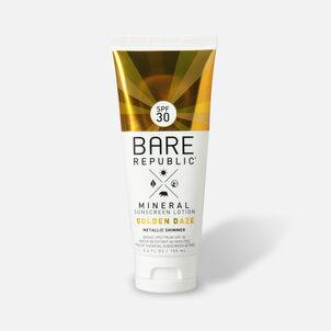Bare Republic Mineral SPF 30 Gold Shimmer Sunscreen Lotion - Golden Daze