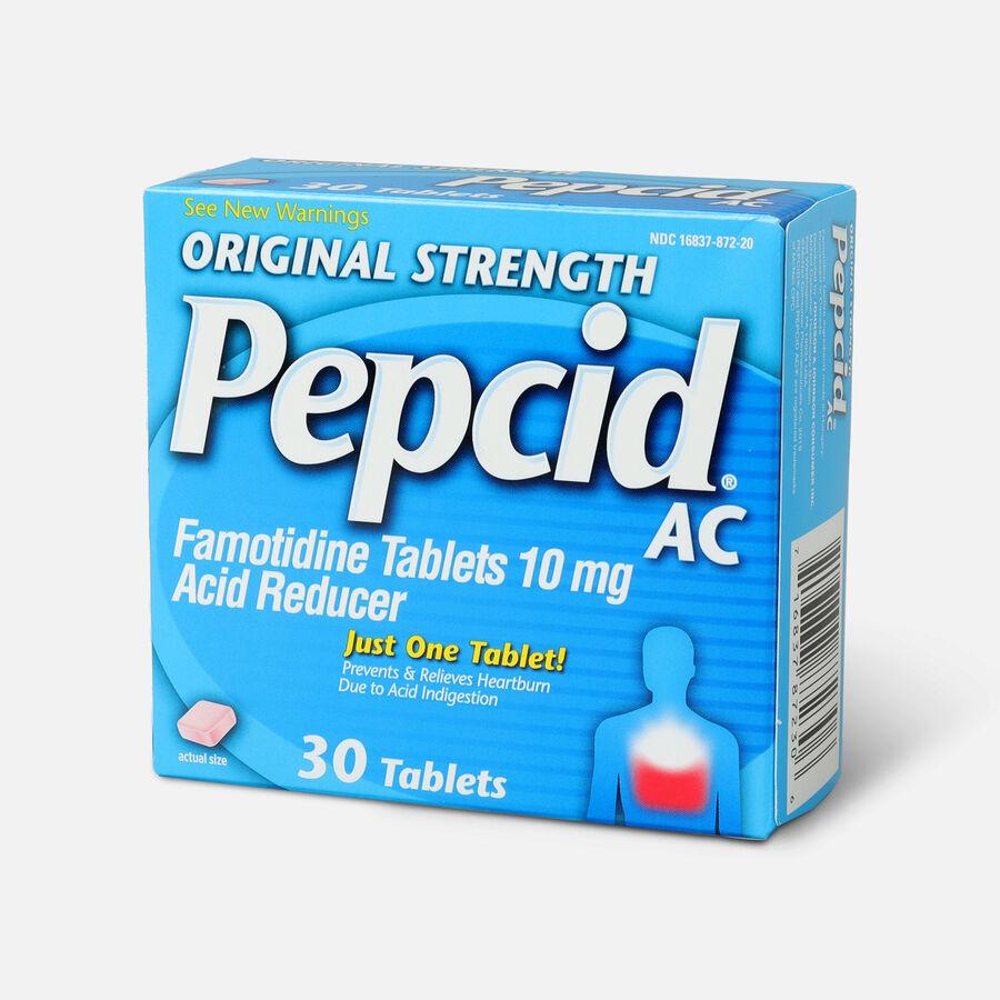 Original Strength PEPCID AC Tablets, 30 Count, , large image number 2