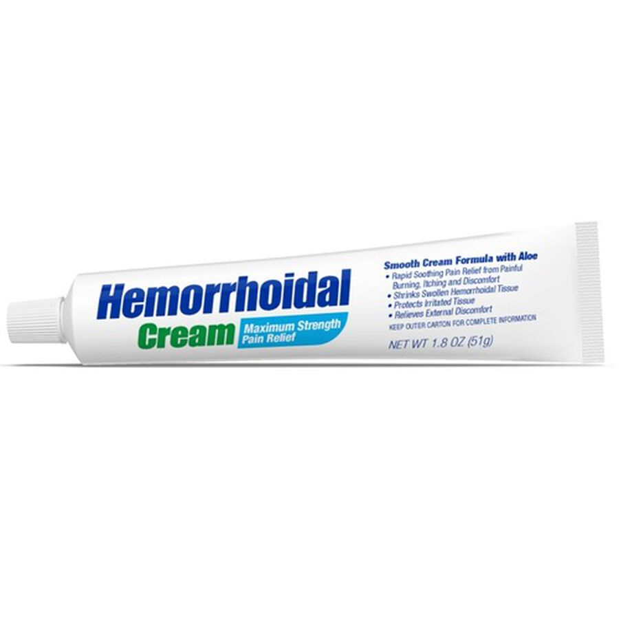 GoodSense® Hemorrhodial Cream Max Strength Pain Relief, 1.8 oz, , large image number 1
