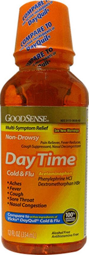 GoodSense® DayTime Cold & Flu Relief, 12 fl oz